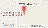 Dreaming Summit Animal Hospital Location