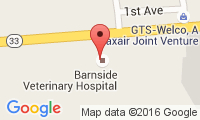 Barnside Veterinary Hospital Location