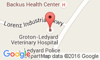 Groton-Ledyard Veterinary Hospital Location
