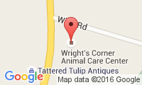 Wright?S Corners Animal Care Center Location