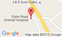 State Road Animal Hospital Location
