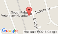 South Ridge Veterinary Hospital Location