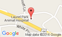 Laurel Park Animal Hospital Location