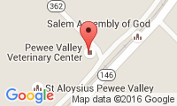 Pewee Valley Veterinary Location