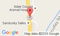 Adair County Animal Hospital Location