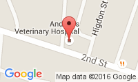 Andrews Veterinary Hospital Location
