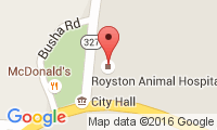 Royston Animal Hospital Location