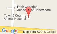 Town & Country Animal Hospital Location