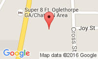 Fort Oglethorpe Veterinary Clinic Location