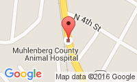 Muhlenberg County Animal Clinic Location
