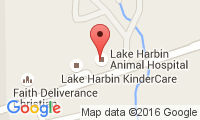 Lake Harbin Animal Hospital Location