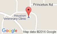 Houston Veterinary Clinic Location