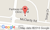 Parkway Animal Clinic Location