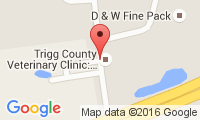 Trigg County Veterinary Clinic Location