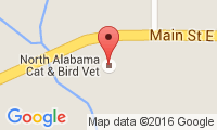 North Alabama Cat & Bird Vet Location