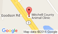 Mitchell County Animal Clinic Location
