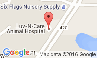 Luv-N-Care Animal Hospital Location