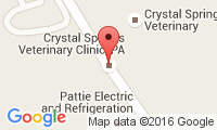 Crystal Springs Veterinary Clinic Location