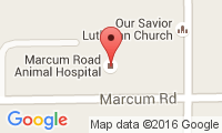 Marcum Road Animal Hospital Location
