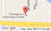 Thompson's Veterinary Center Location