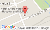 North Shore Veterinary Hospital Location