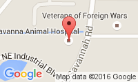 Savanna Road Animal Hospital Location
