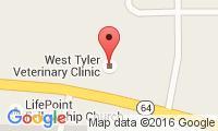 West Tyler Veterinary Clinic Location