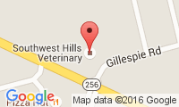 Southwest Hills Veterinary Location