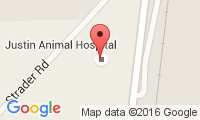 Justin Animal Hospital Location