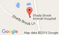 Shady Brook Animal Hospital Location