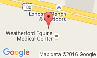 Weatherford Equine Medical Center Location