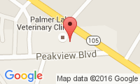 Palmer Lake Veterinary Location