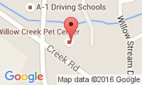 Willow Creek Pet Center Location