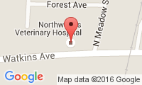 Northwoods Veterinary Hospital Location