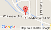 Owyhee Veterinary Clinic Location