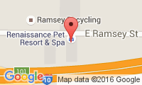 Renaissance Pet Resort and Spa Location