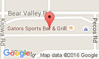 Bear Valley Animal Hospital Location