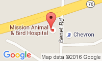 Mission Animal & Bird Hospital Location