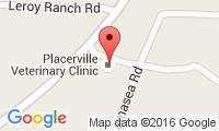 Placerville Veterinary Clinic Location