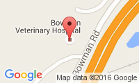 Bowman Veterinary Hospital Location