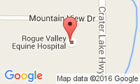 Rogue Valley Equine Hospital Location