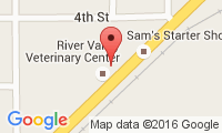River Valley Veterinary Center Location