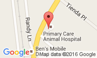 Primary Care Dog & Cat Hospital Location