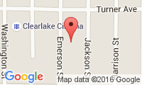 Clearlake Veterinary Clinic Location