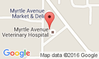 Myrtle Avenue Veterinary Hospital Location