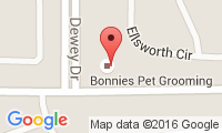 Bonnies Pet Grooming Location