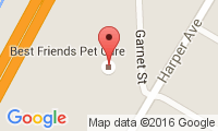 Best Friends Pet Care and Harperlawn Pet Memorial Gardens Location