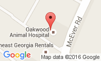 Oakwood Animal Hospital Location