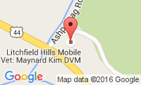 Litchfield Hills Mobile Veterinary Clinic Location